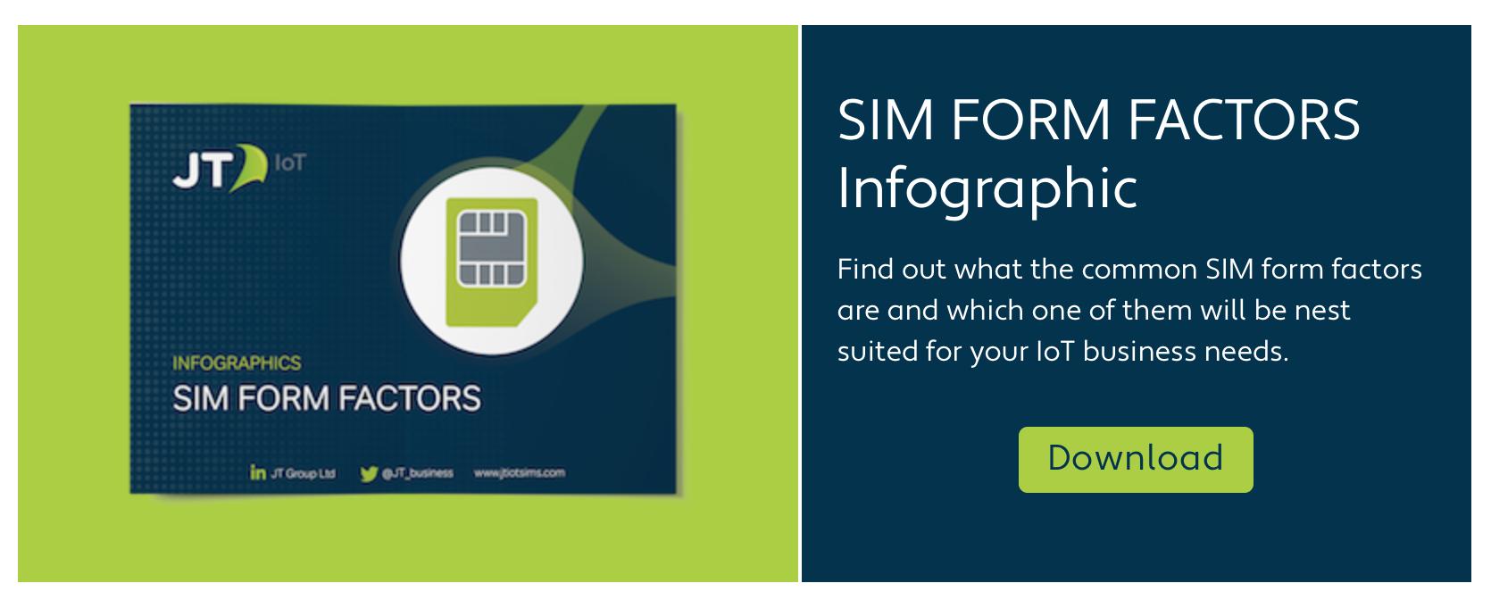 SIM Form Factor Infographic